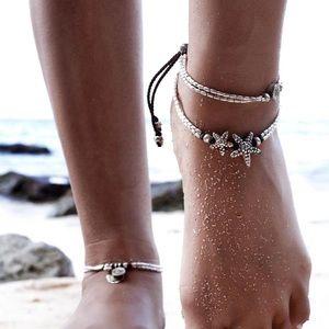 Boho Starfish Anklet